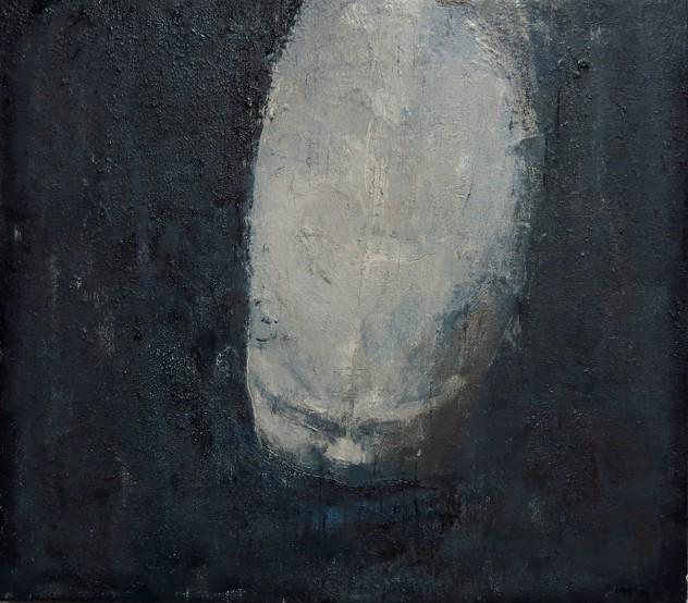 生的愤怒1 35x40cm 布面油画 2015年