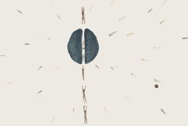 食人集水彩4 25×22cm 2013年