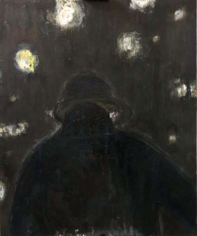 呼吸者肖像14 120×100cm 布面油画 2016年