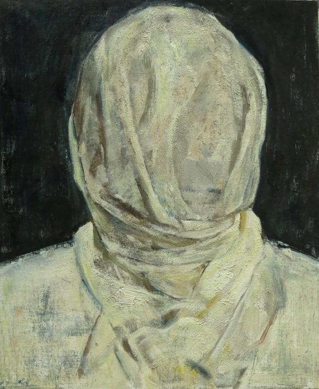 呼吸者肖像3 50×60cm 布面油画 2015年