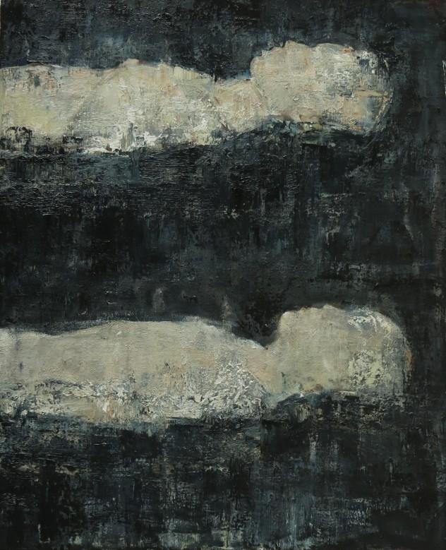 呼吸者肖像4 110×90cm 布面油画 2015年