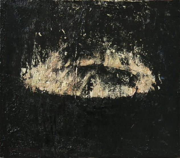 燃烧3 35×40cm 2016年 布面油画