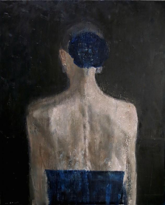 呼吸者肖像16 110×90cm 布面油画 2016年